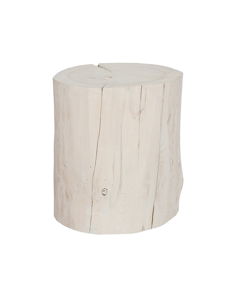 Whitewash Stump Large