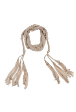 Saskia braided scarf/belt
