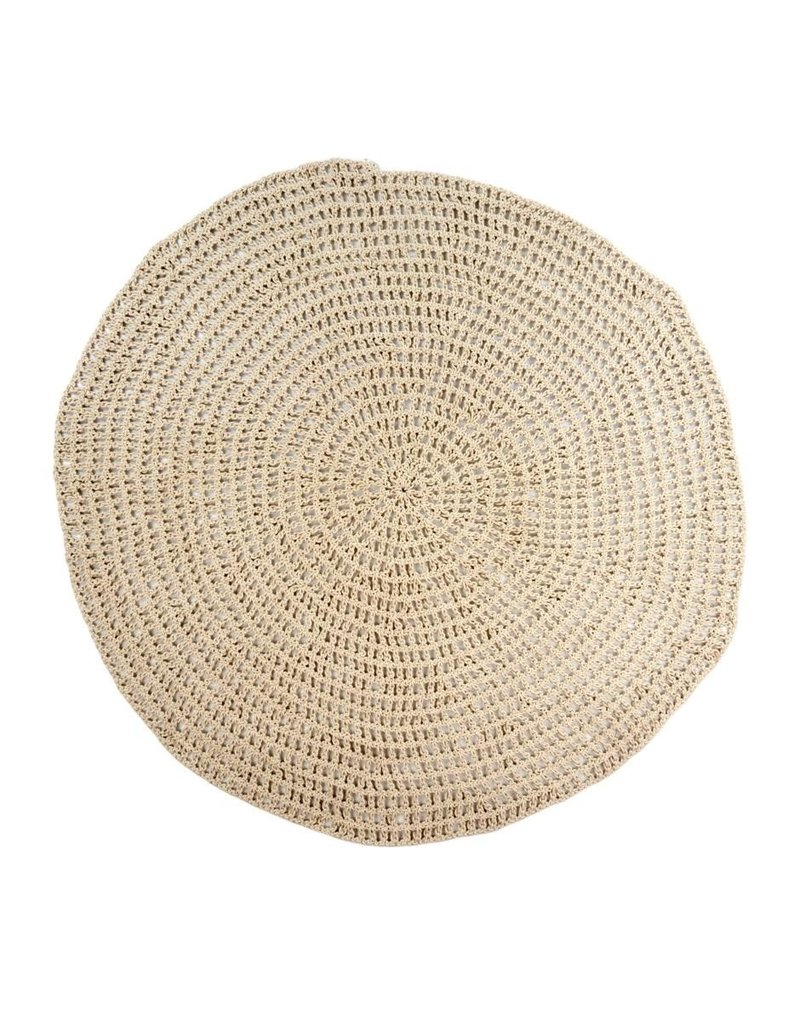 Cotton Crochet Rug
