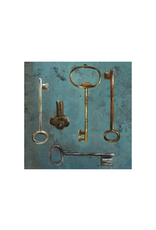 Antique Keys III 24x24