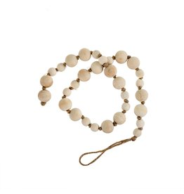 Wooden prayer beads ivory