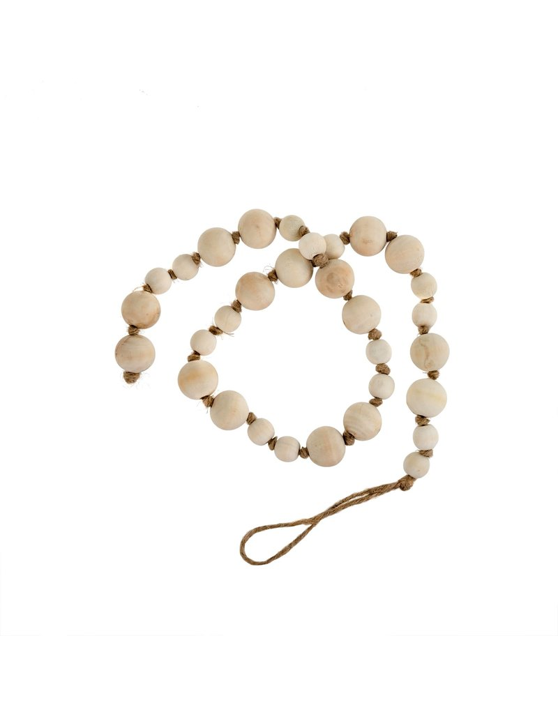 Wooden prayer beads ivory
