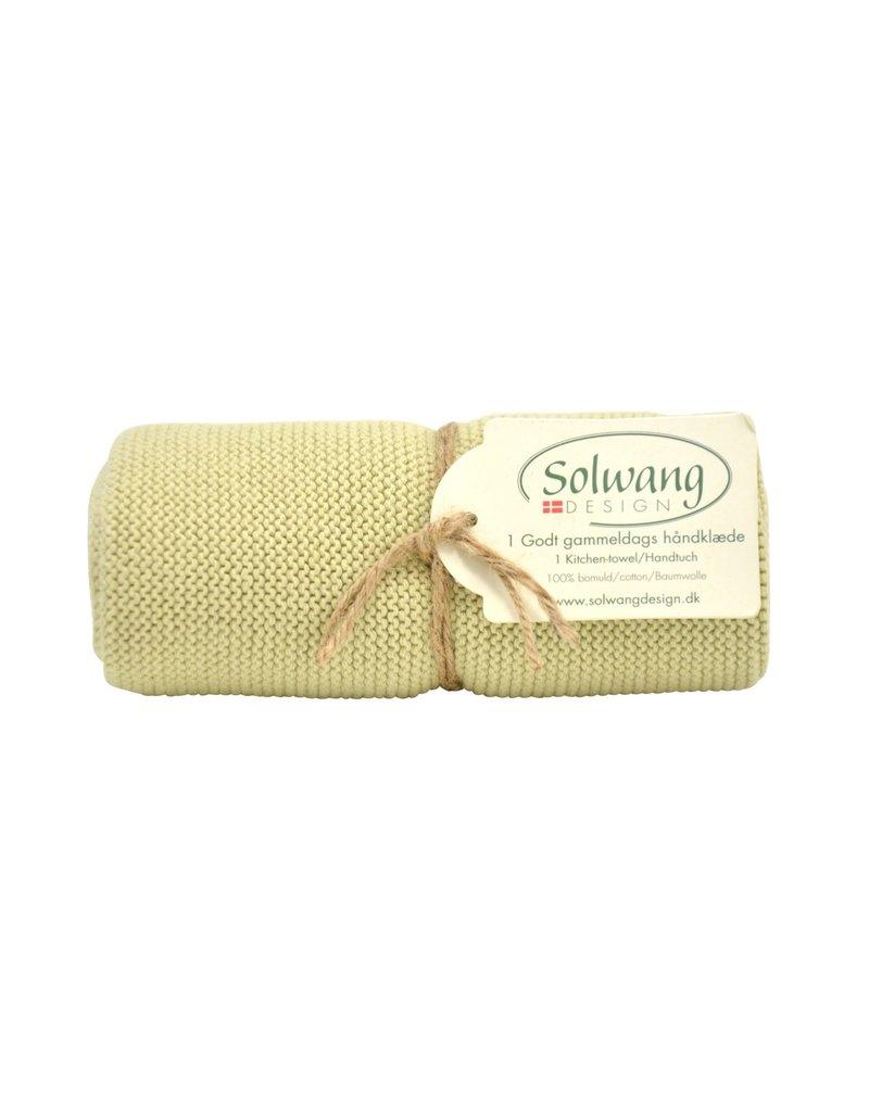 Solwang Solwang dish towels light olive