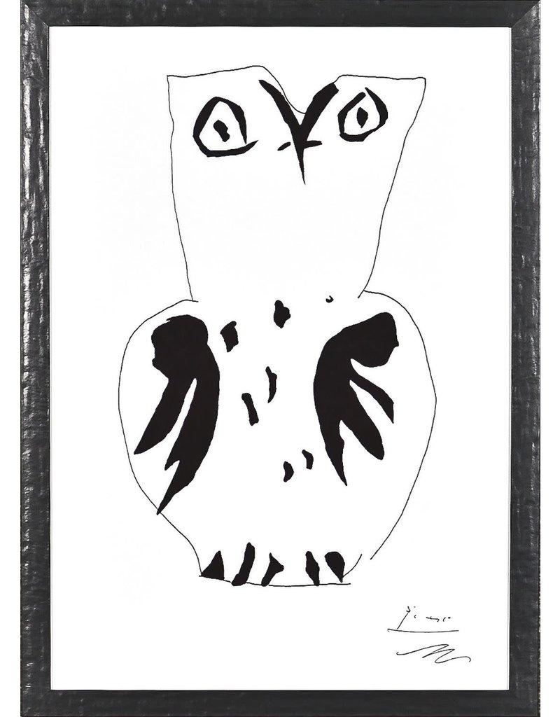 """Picasso Owl 13"""" x 19"""""""