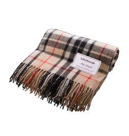 Edinburgh Wool Throw Blanket - Thompson Camel