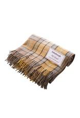 Edinburgh Wool Throw Blanket  - Natural Buchanan