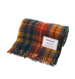 Edinburgh Wool Throw Blanket  - Antique Buchanan