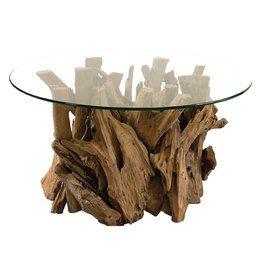 TEAK DRIFTWOOD COCKTAIL TABLE