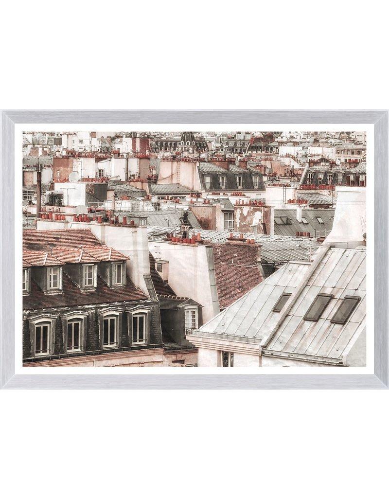 TERRA COTTA ROOFTOPS - PARIS II