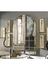 Uttermost Grantola Mirror in Antiqued Gold
