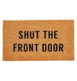 """Shut the Front Door Doormat 48"""" x 16"""""""