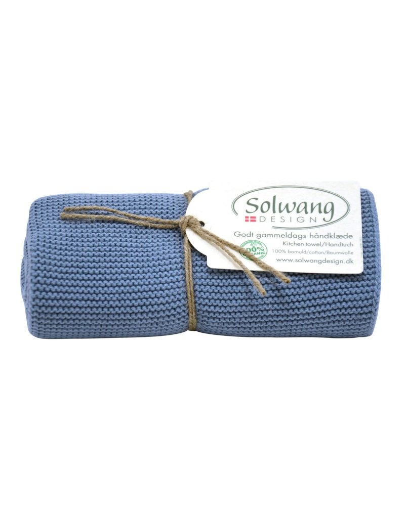 Solwang Solwang dish towels rustic blue