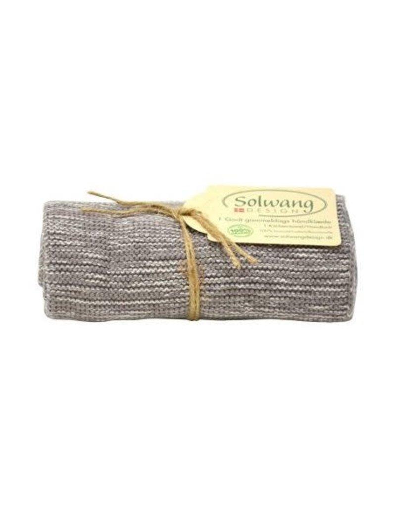 Solwang Solwang dish towels nature / grey