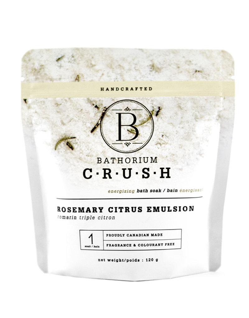Bathorium Rosemary Citrus Emulsion CRUSH 120g