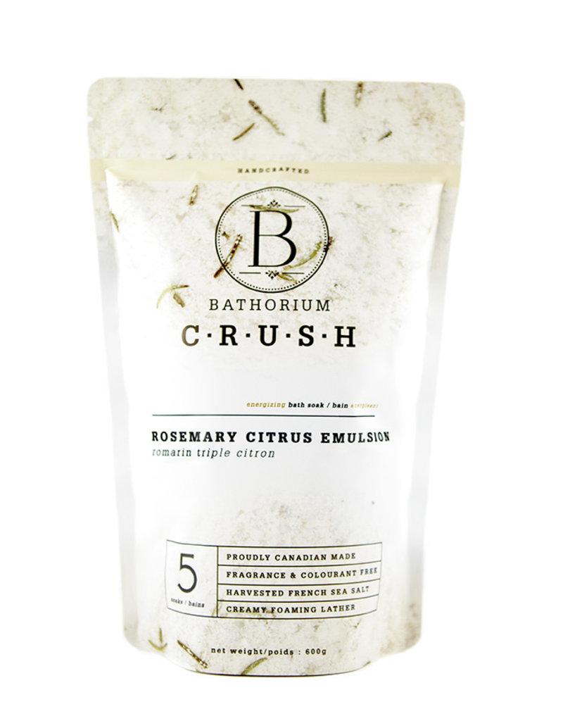 Bathorium Rosemary Citrus Emulsion CRUSH 600g
