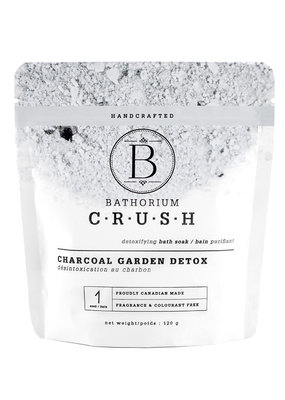 Bathorium Charcoal Garden Detox CRUSh 120g