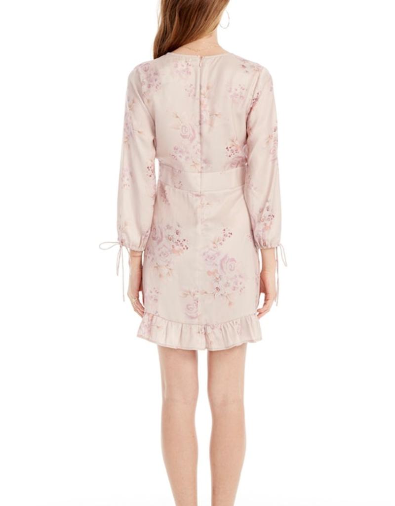 Saltwater Luxe 3/4 Sleeve Petal Mini Dress