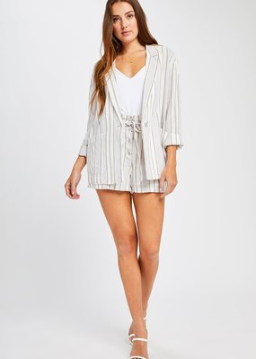 Gentle Fawn Isla Grey Stripe jacket