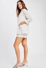 Gentle Fawn Isla Grey Stripe jacket