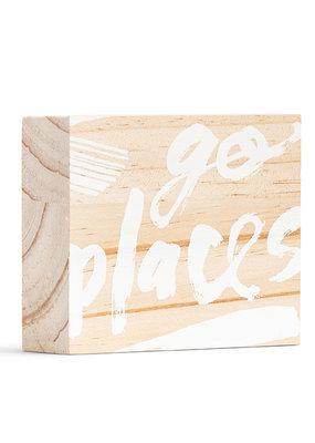 Compendium Go Places Sign (Mini)