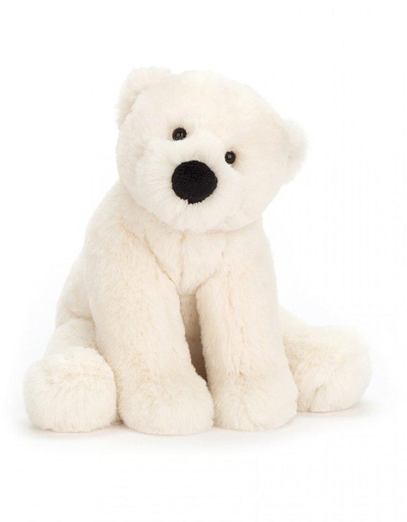"""Jellycat Inc. Perry Polar Bear 10"""""""