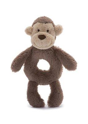 Jellycat Inc. Bashful Monkey Ring Rattle
