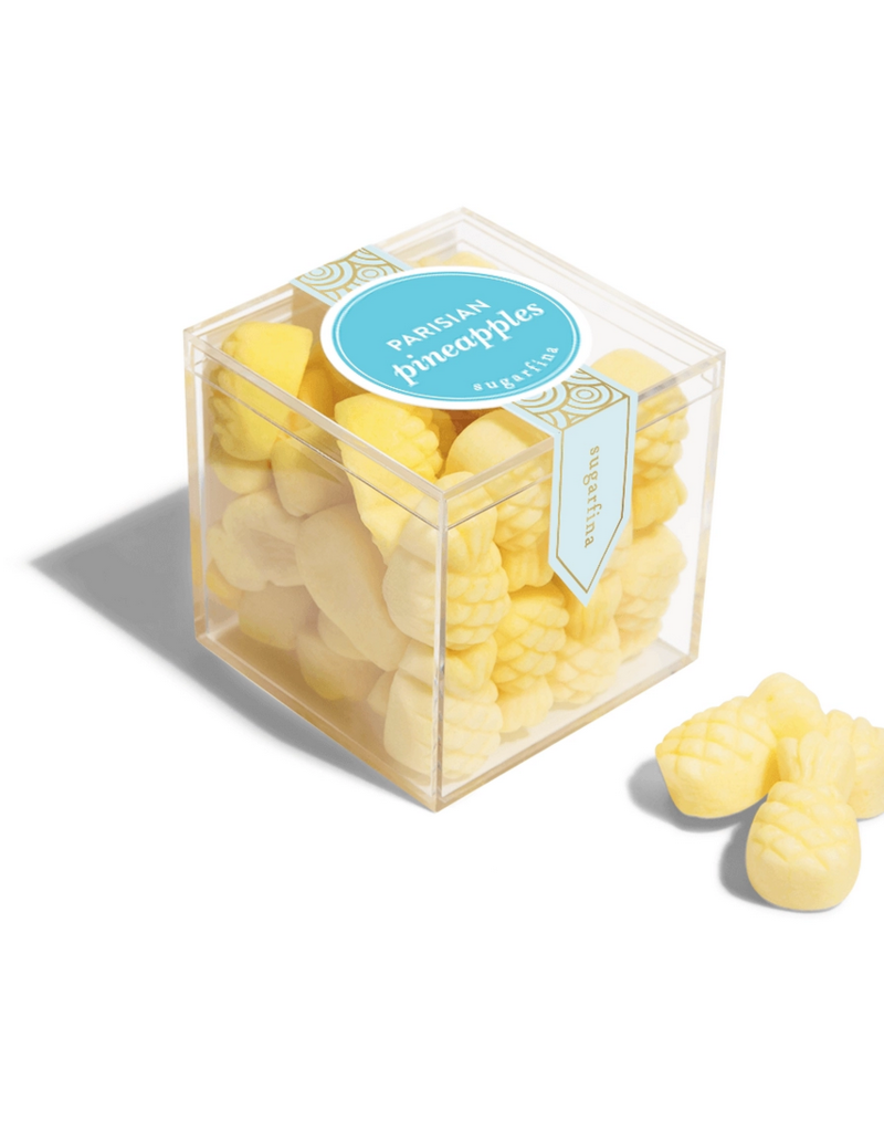 Sugarfina Parisian Pineapples Small Cube (VEGAN)