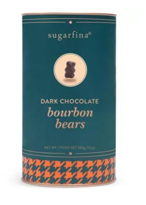 Sugarfina Dark Choc Bourbon Bears Canister