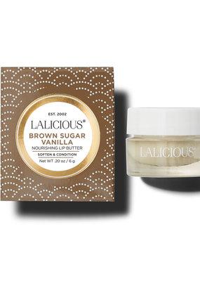 Lalicious Brown Sugar Vanilla Lip Butter 2oz.