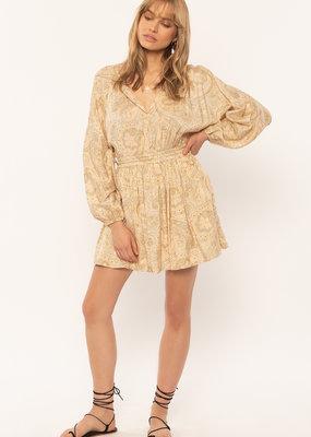 Amuse Society Lucianna Woven Dress