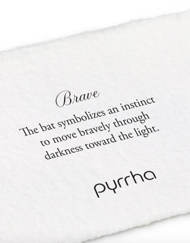 Pyrrha Brave Silver 18in
