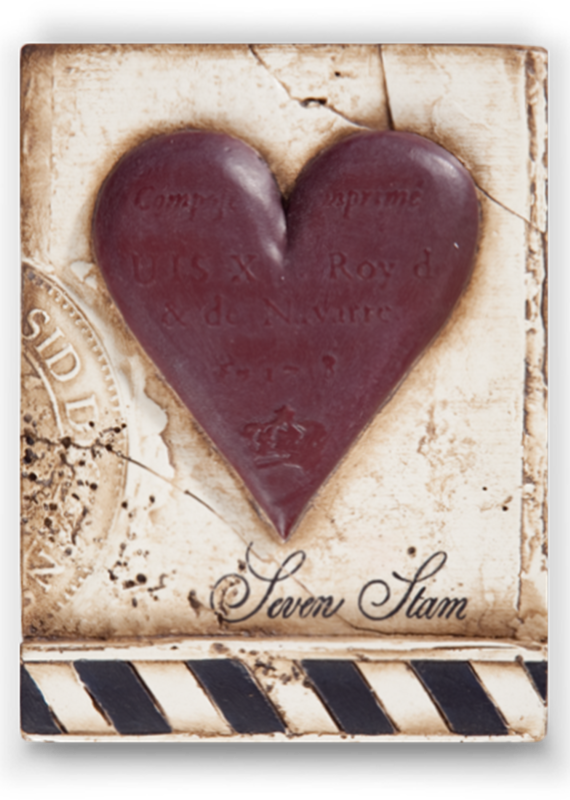 Sid Dickens T175 SEVEN OF HEARTS