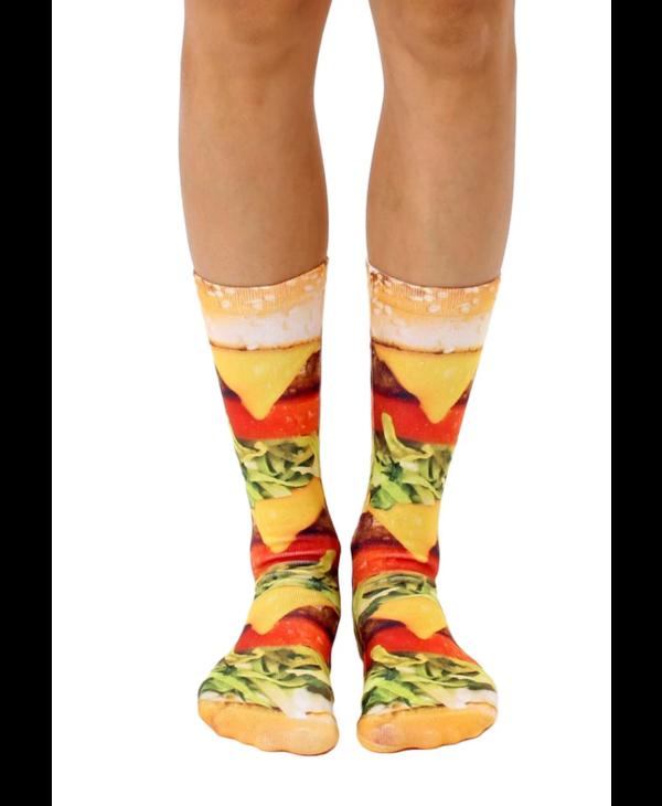 Burger Love Crew Socks