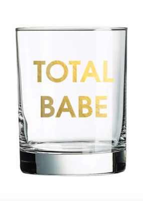 Chez Gagne Total Babe Rock Glass