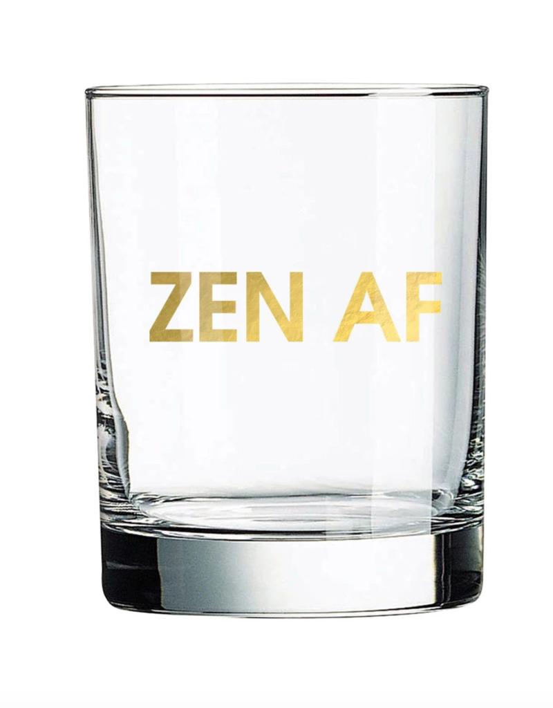 Chez Gagne Zen AF Rocks Glass
