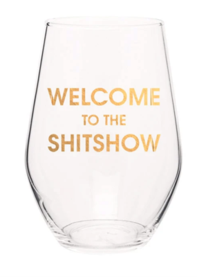 Chez Gagne Welcome Wine Glass