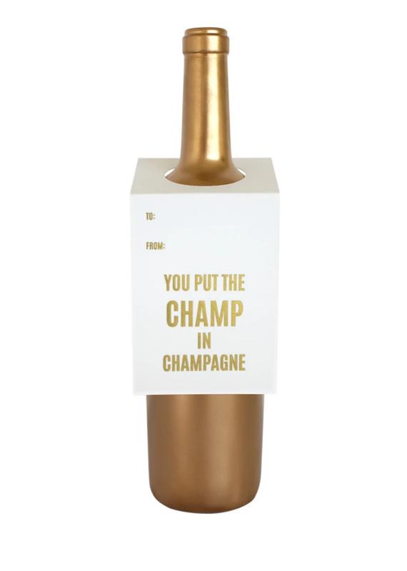 Chez Gagne Wine Tag Champ