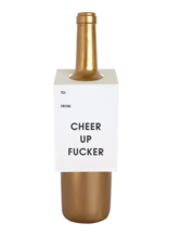Chez Gagne Wine Tag Cheer Up