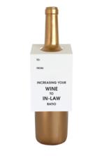 Chez Gagne Wine Tag In Law