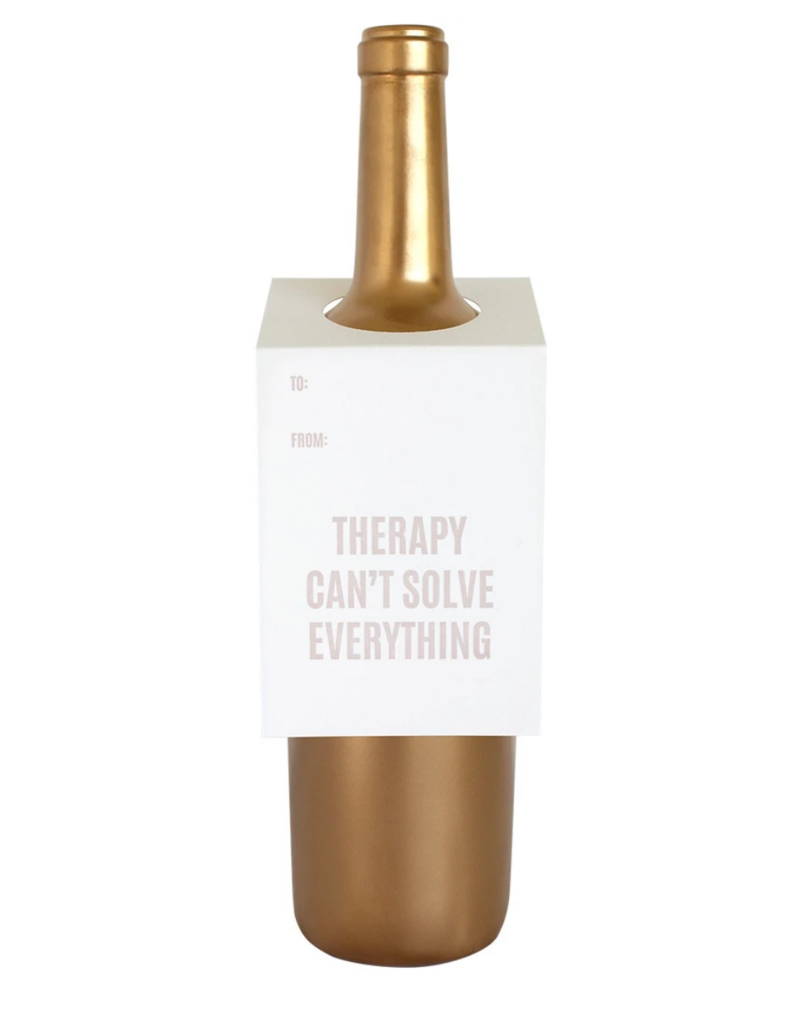 Chez Gagne Wine Tag Therapy