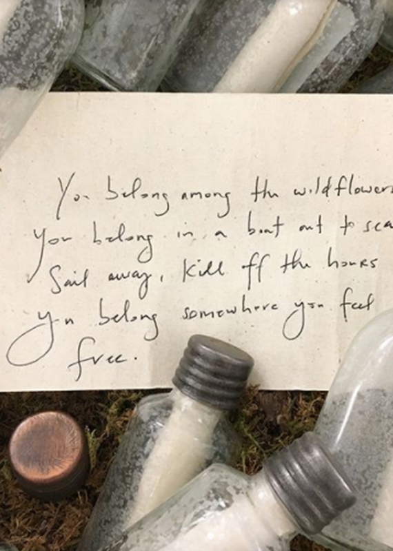 Sugarboo & Co. Message in a Bottle, Lrg