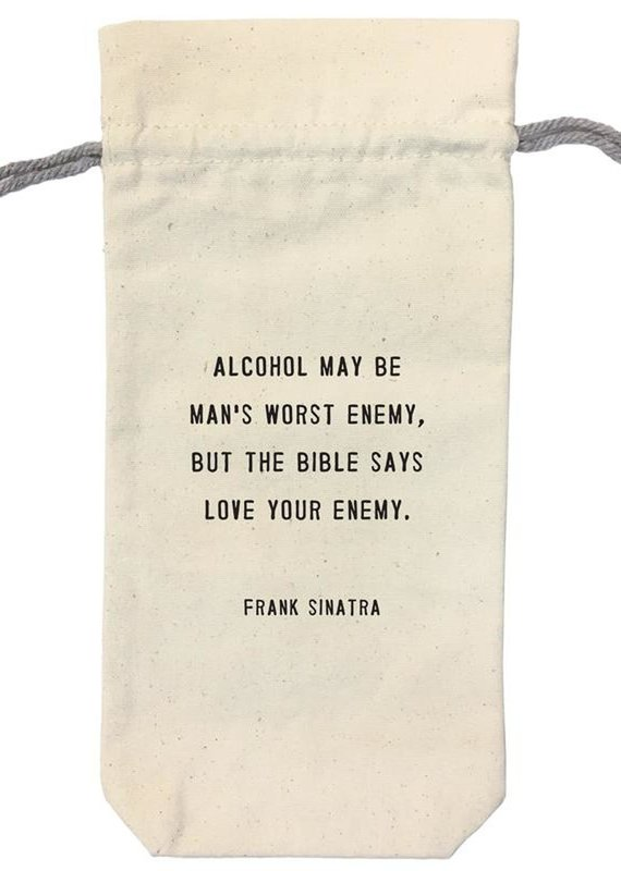 Sugarboo & Co. Love Your Enemy Wine Bag