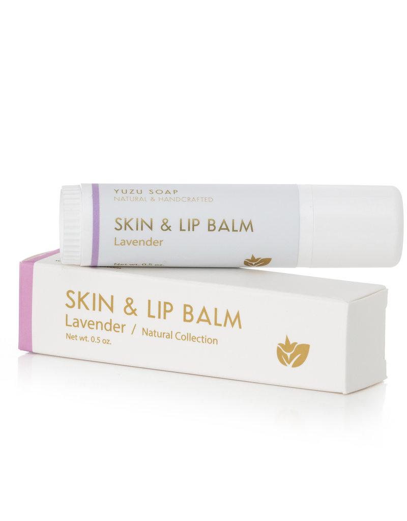 Yuzu Soaps Lavender Skin & Lip Balm