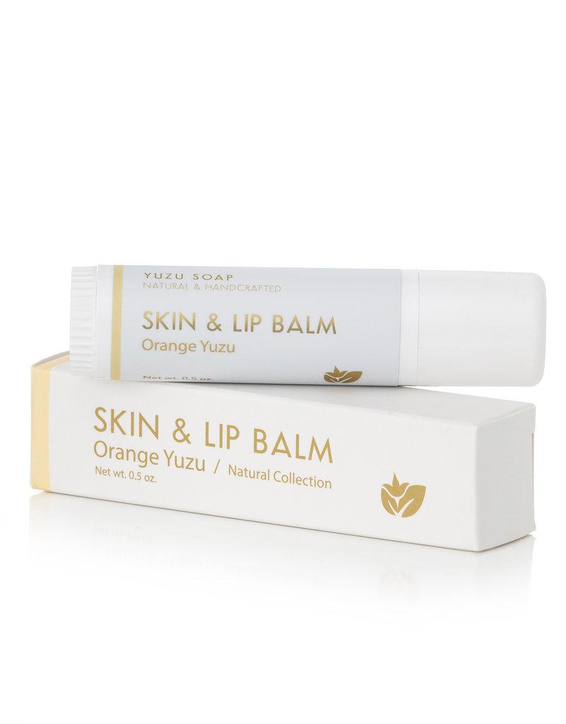 Yuzu Soaps Orange Skin & Lip Balm