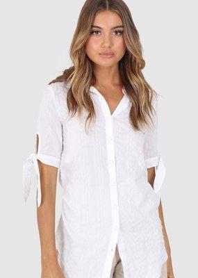 Lost in Lunar Drew Shirt White