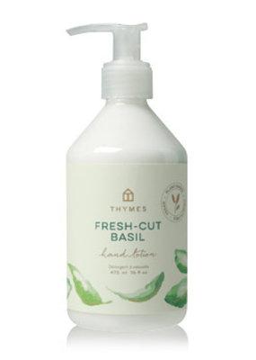 Thymes Fresh-Cut Basil Hand Lotion 9oz