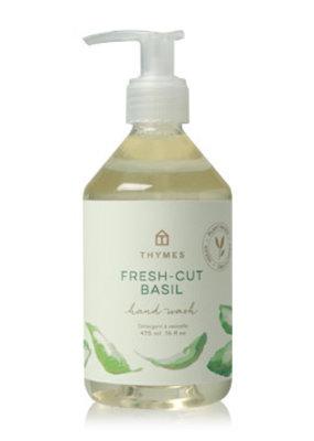 Thymes Fresh-Cut Basil Hand Wash 9oz