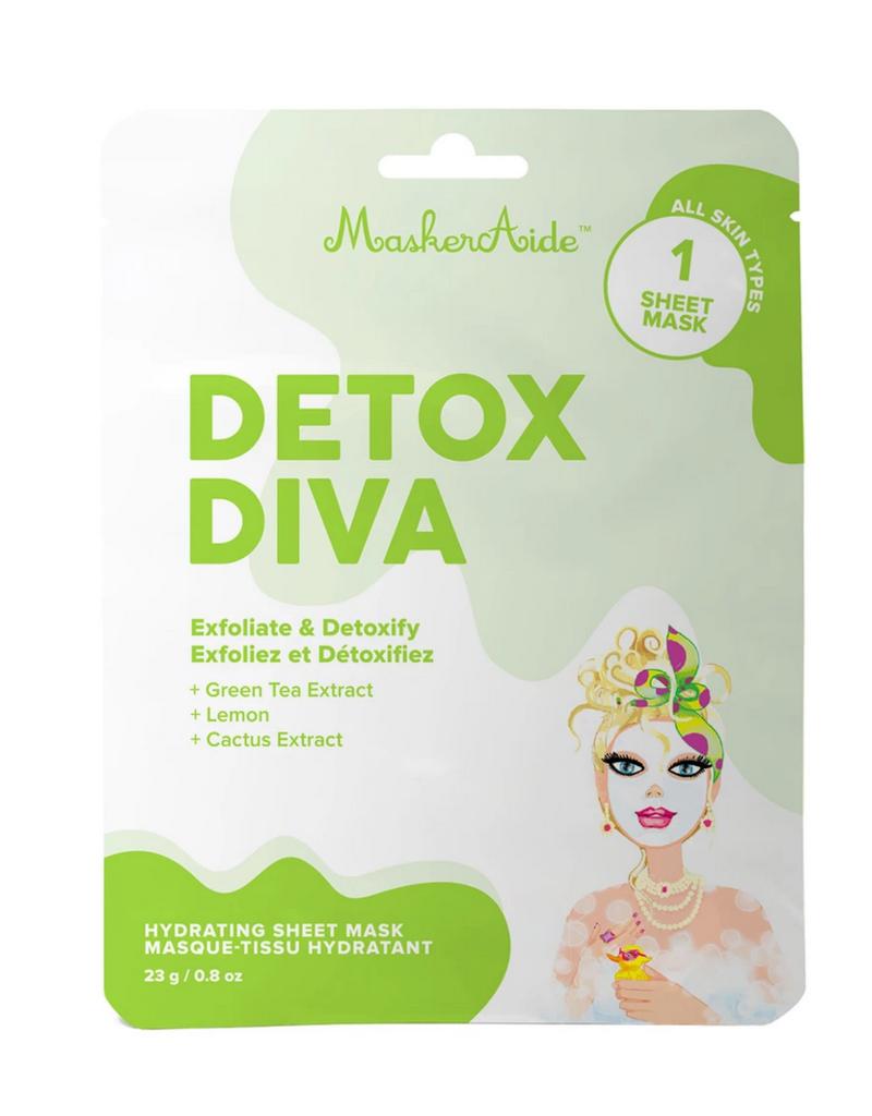 MaskerAid Detox Diva Facial Mask