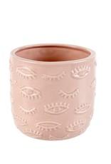 Indaba Trading Co. Eyes Pot Pink Large