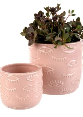 Indaba Trading Co. Eyes Pot Pink Small